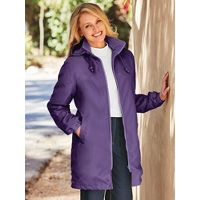 Deals on Totes Womens Longer-Length Water-Resistant Storm Parka