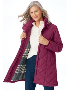 Rushmore Water-Resistant Quilted Parka