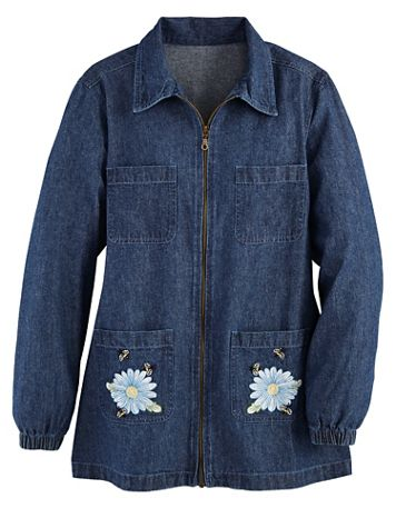 Denim Zip Jacket - Image 1 of 1