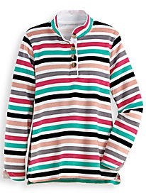 Fresh® Striped Active Tunic