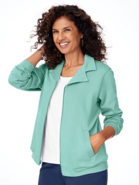 Zip-Front Fleece Jacket
