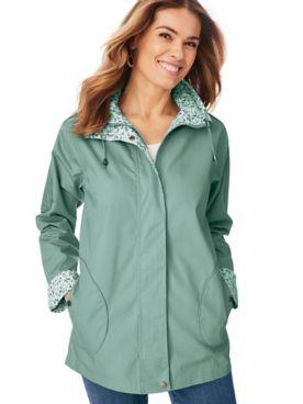 Water-Resistant Poplin Jacket