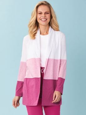 Weekend Colorblocked Cardigan