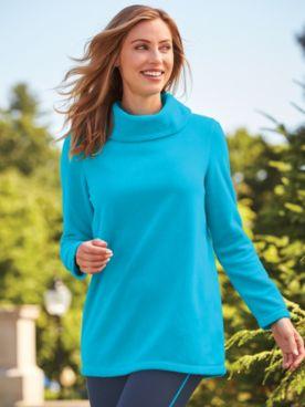 Scandia Woods® Fleece Cowl Neck Tunic
