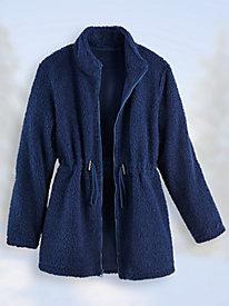 Sherpa Fleece Anorak Jacket by Blair