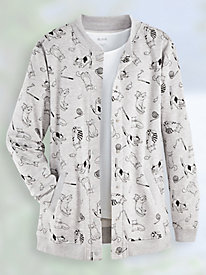 Print Fleece Jacket by Blair
