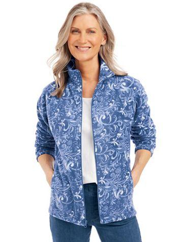 Printed Scandia Fleece Jacket - Image 1 of 4