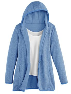Hooded Sweater-Fleece Jacket