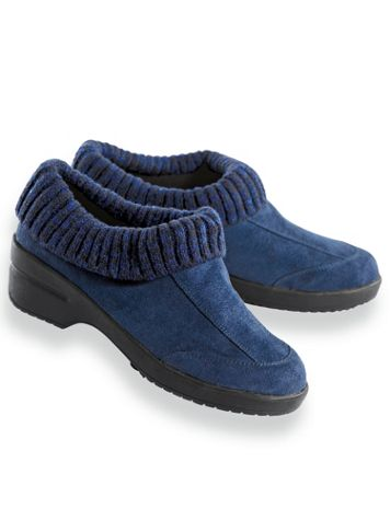 """""""Jamie"""" Sweater Top Clogs by Classique® - Image 2 of 2"""