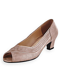 Loni Peep-Toe Pumps by Beacon®