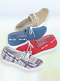 Christa Canvas Boat Shoes
