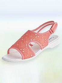 Eyelet Comfort Sandals
