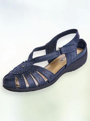 Nani Scalloped Cutout Sandals