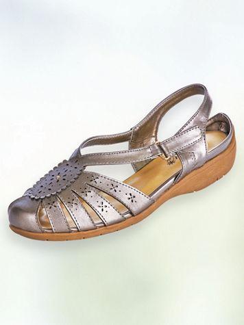 Nani Scalloped Cutout Sandals - Image 2 of 2