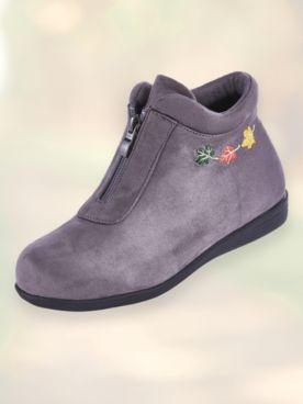 Leaf Embroidered Boots by Beacon®
