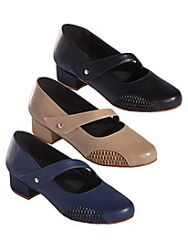 Vilma Side Stretch Dancing Shoes by Beacon®