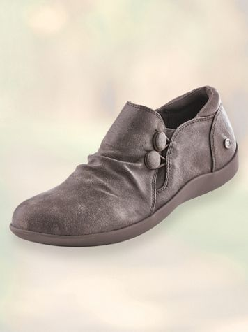 Lark Button Slip-Ons by Gloria Vanderbilt®
