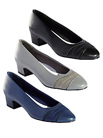 Babette Mixed Media Pumps by Easy Street®