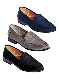 Madison Suede Loafers by Life Stride®