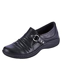 Jemma Side Buckle Slip-Ons by Baretraps®