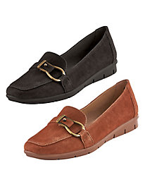 Lindsey Buckle Mocs from Soul by Naturalizer®