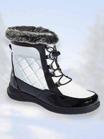 Lindsey Lace-Up Boots by Totes®