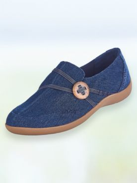 Maggie Woven Slip-Ons