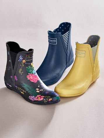 Piccadilly Rain Booties by London Fog® - Image 1 of 3