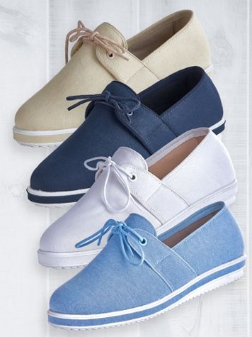 Donna Tie Detail Slip-Ons by Beacon®