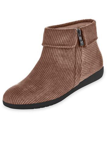 """ComfortEase® """"Irene"""" Corduroy Boots - Image 1 of 5"""