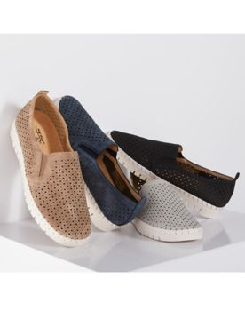 Fresh Gored Slip-Ons by Easy Street