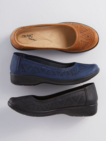 Tex Perforated Slip-Ons by Easy Street - Image 1 of 4