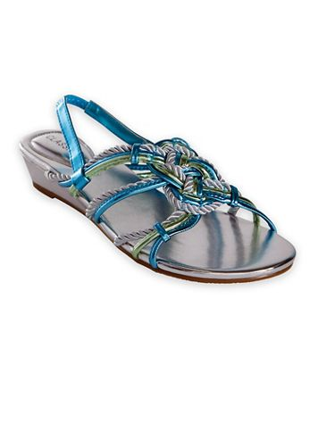 Metallic Sandals by Classique - Image 1 of 5