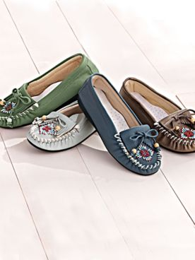 Beaded Moccasins by Classique