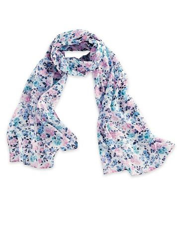 Floral-Print Scarf - Image 1 of 1
