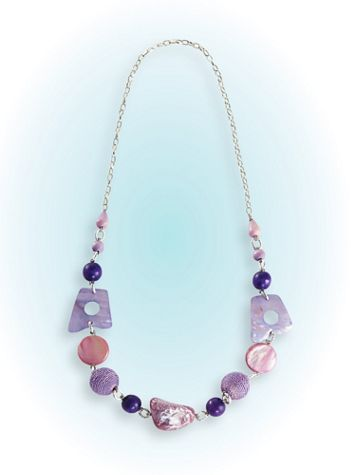 Whimsical Beaded Necklace - Image 2 of 2