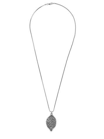 Crystal Leaf Necklace - Image 1 of 1
