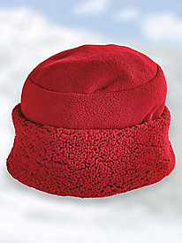Sherpa Trim Hat