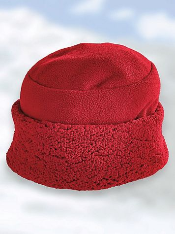 Sherpa Trim Hat