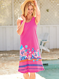 Knit Tank Swim Cover-Up