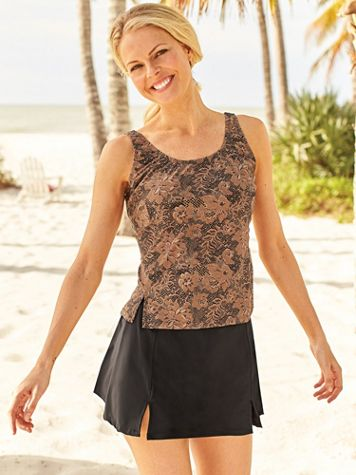 Lace Print Tankini - Image 2 of 2