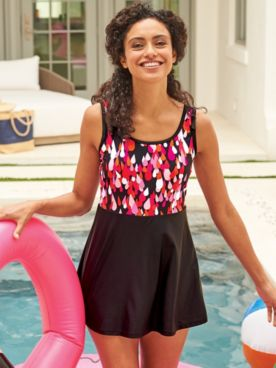 Monterey Teardrop Swimdress