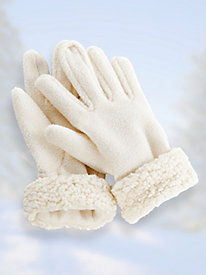 Sherpa Trim Gloves