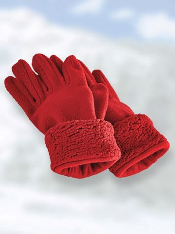 Sherpa Trim Gloves
