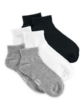 10-Pack Quarter-Length Socks