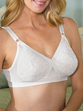 Lace Criss-Cross Bra