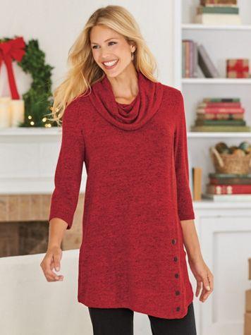Touchably Soft Heathered Tunic