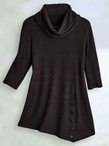 Touchably Soft Heathered Tunic - Image 2 of 2