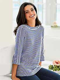 Criss-Cross Sailor Top