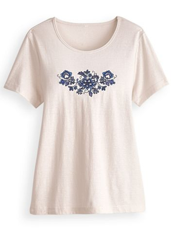 Embroidered Novelty Top - Image 2 of 2